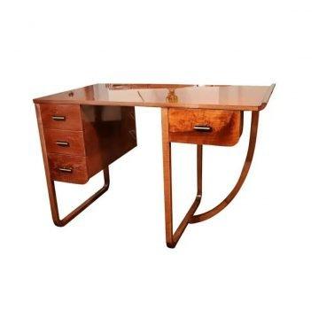American Art Deco Desk Attributed to Gilbert Rohde for Kohler