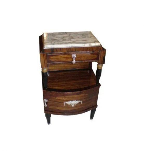 Art deco Zebrawood Table