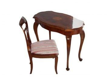 Biedermeir Table and Chair