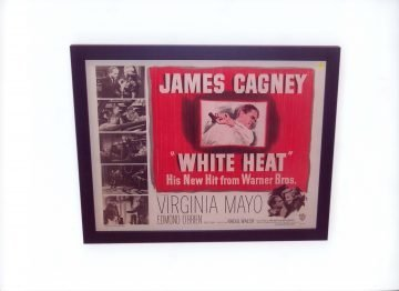 """White Heat"" Warner Brothers Movie Poster"