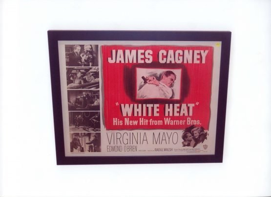 """White Heat"" Warner Brothers Movie Poster"