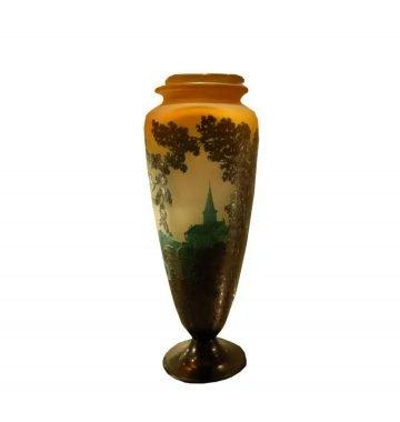 Emile Galle Art deco Vase