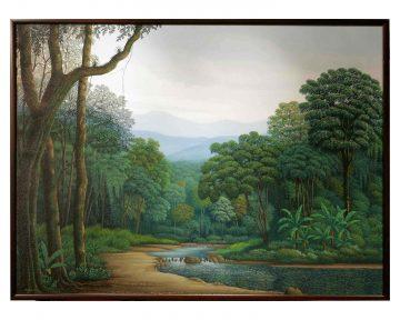Oil Painting By Isak Santana