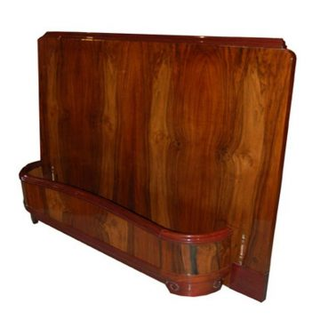 French Art Deco Bed Suite by Majorelle Nancy