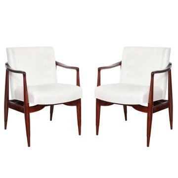 Sculptural American Midcentury Chairs